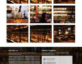 #50 for Create a website design for a whiskey bar by WebCraft111