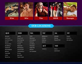 #12 for Design a Website home page for a dating / escorts website by pixelwebplanet