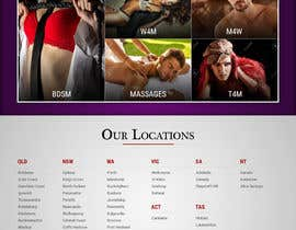 #16 for Design a Website home page for a dating / escorts website by pixelwebplanet