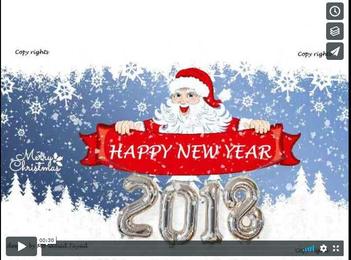 Entry 19 by mfyad for design an animated greeting card for contest entry 19 for design an animated greeting card for christmas and new year m4hsunfo