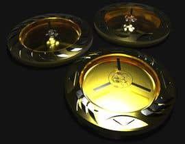 #34 pentru Design for golf ball markers like watch case de către IhorKozodoy