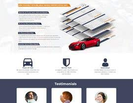 #24 for Design a Website Mockup for a Car Website by nishita29