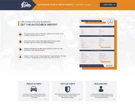 #61 for Design a Website Mockup for a Car Website by Suvamaya