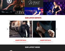 #7 for design a website for a musical artist by RoboExperts
