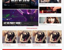 #8 for design a website for a musical artist by RoboExperts