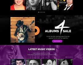 #10 for design a website for a musical artist by RoboExperts