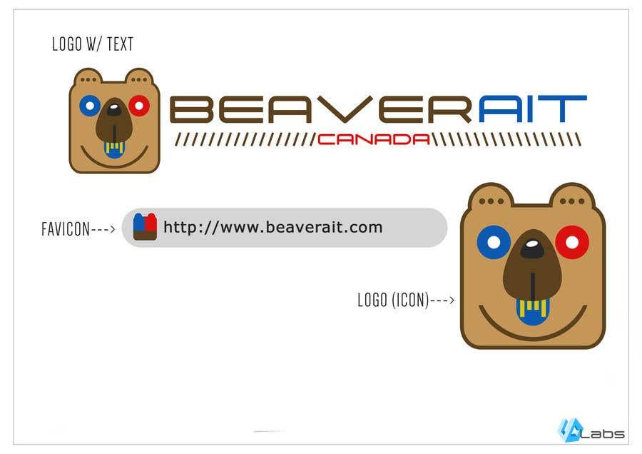 entry 17 by urbandavao for design a logo for beaver ait canada