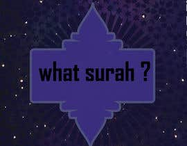 #24 cho I Need a Logo Designed For A mobile App Called What Surah bởi usaidirshad