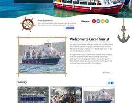 #9 untuk Design a Website Mockup for local boat tourist tours oleh kethketh