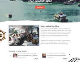 #10 untuk Design a Website Mockup for local boat tourist tours oleh anilsingh2chd