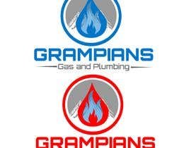 #150 for Plumbing Logo designed like the example ill upload with the mountains in background and a flame/drop symbol but am open to other ideas. Business name Grampians Gas and Plumbing. af wawanwahyu92
