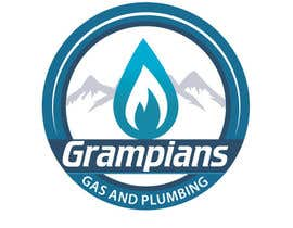 #39 for Plumbing Logo designed like the example ill upload with the mountains in background and a flame/drop symbol but am open to other ideas. Business name Grampians Gas and Plumbing. af twodnamara