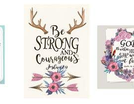 nº 79 pour Recreate these 3 design quotes par marijakalina