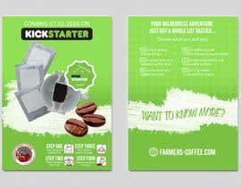 Nro 39 kilpailuun Flyer Design A6 for Kickstarter Campaign käyttäjältä Nanara