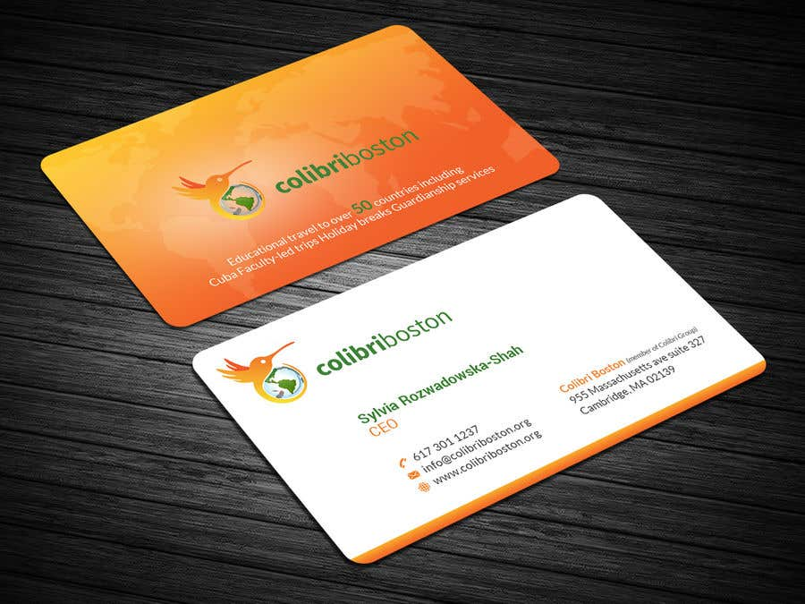 Entry 9 By Mahmudkhan44 For Business Card For Educational Travel