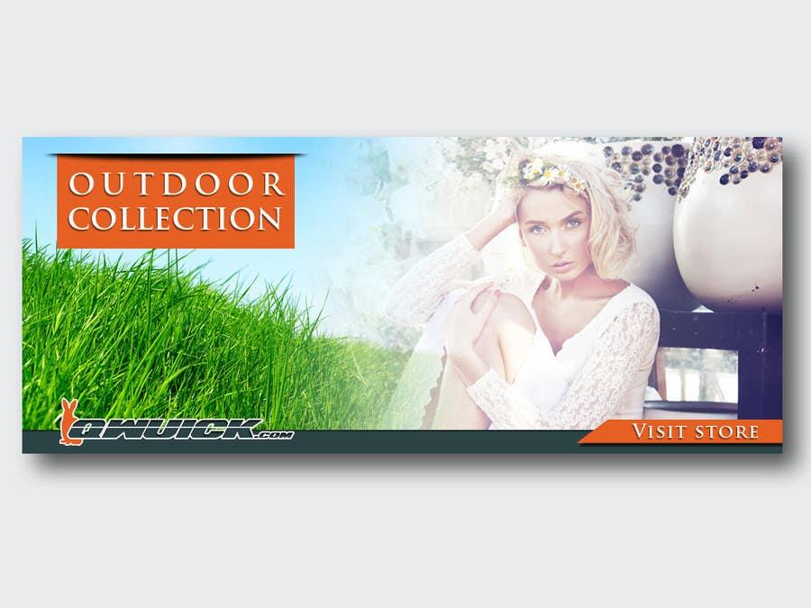 Intrare concurs #45 pentru Banner Ad Design for Qwuick