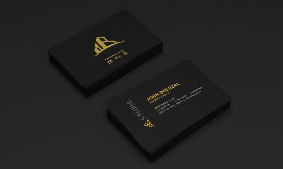 Proposition n°                                        95                                      du concours                                         Business Card Design for Caliber - The Wealth Development Company