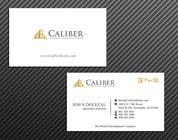 Graphic Design Kilpailutyö #32 kilpailuun Business Card Design for Caliber - The Wealth Development Company