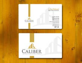 #24 para Business Card Design for Caliber - The Wealth Development Company por vigneshsmart