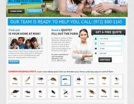 #26 para Website Design for All Star Pest Control por MishAMan