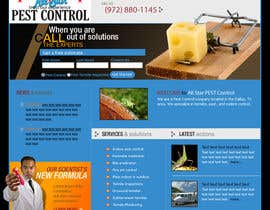 #29 cho Website Design for All Star Pest Control bởi abhishekagrawal2