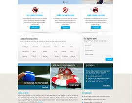 #20 para Website Design for All Star Pest Control por Pavithranmm
