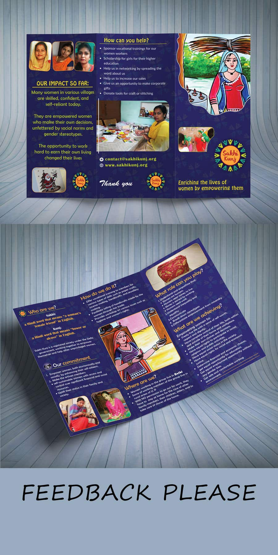 entry 17 by jotikundu for urgent flyer brochure design for ngo in