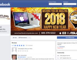 #76 for Design 2018 New Year Facebook Cover Page by creativesolutanz