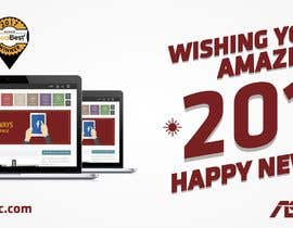 #17 for Design 2018 New Year Facebook Cover Page by iamramizansari
