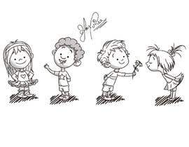 #25 untuk Illustrate Four Characters as part of a series oleh TEHNORIENT