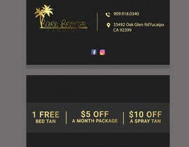 #60 for Promo Cards - Business Card Size by AKTARUZZAMAN1