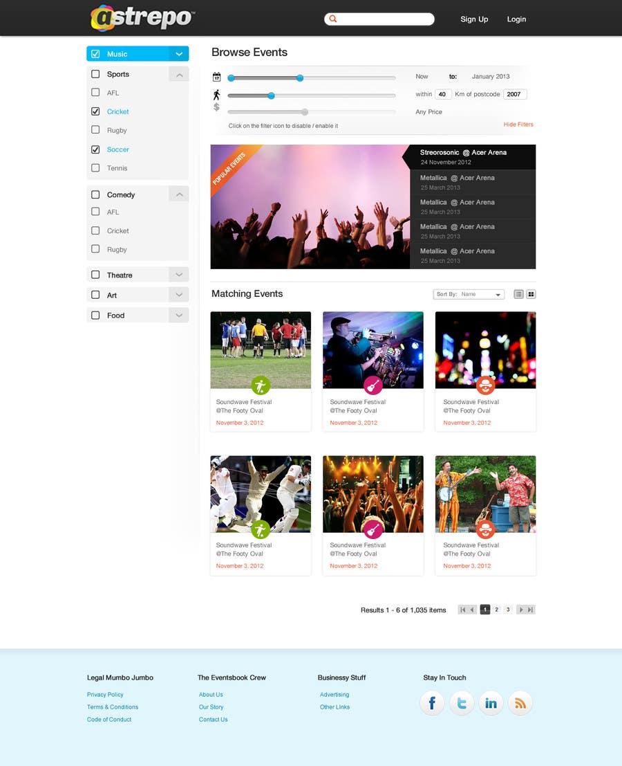 Proposition n°14 du concours Website Design for Astrepo
