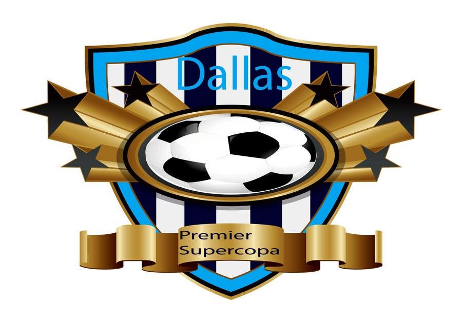 Inscrição nº 267 do Concurso para Logo Design for Dallas Premier Supercopa