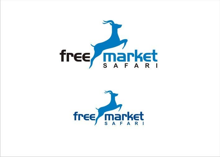#568 for Logo Design for Free Market Safari by sharpminds40