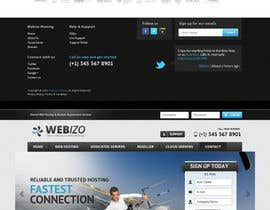 nº 23 pour Website Design for Webizo (Webizo.com) par MishAMan