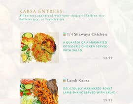 #61 for Menu for Kabsa House by rubenns