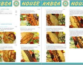 #33 for Menu for Kabsa House by sukumaran12178