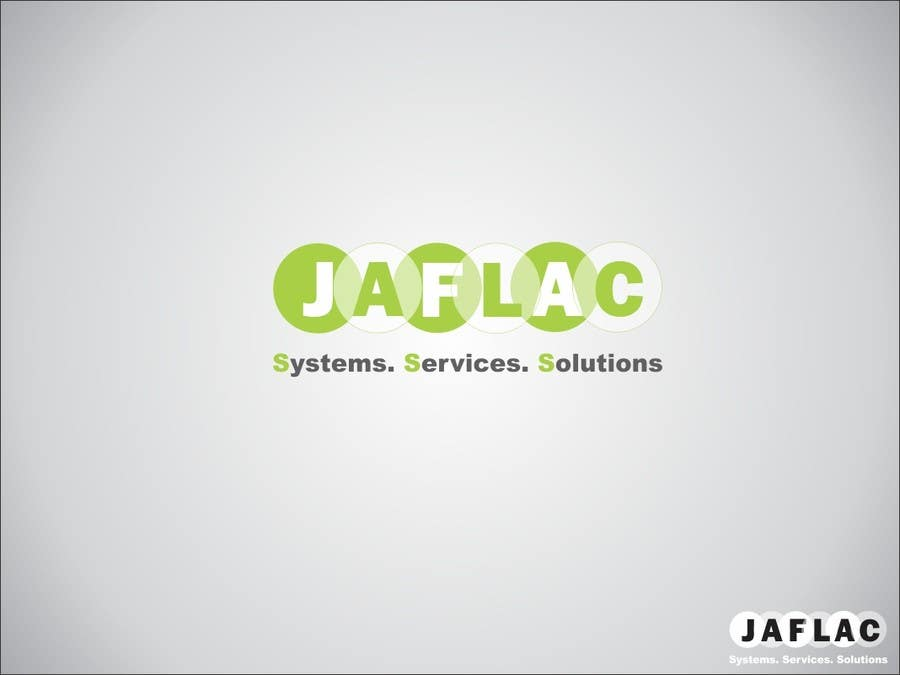 #76 for Logo Design for JAFLAC Systerms Services Solutions by maazalisyed