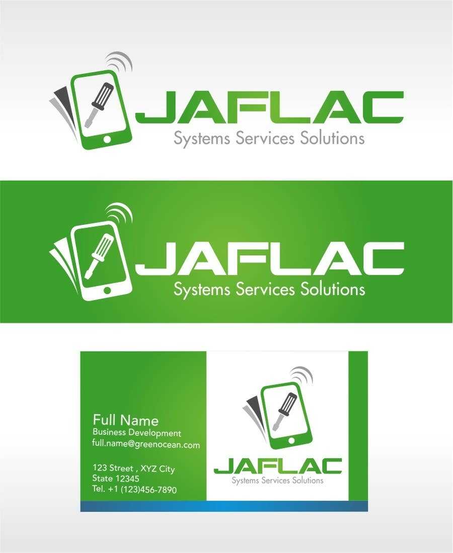 Penyertaan Peraduan #                                        407                                      untuk                                         Logo Design for JAFLAC Systerms Services Solutions