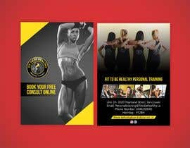 #10 for Double Sided Flyer For Personal Training Business and Studio by meenastudio