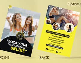 #7 for Double Sided Flyer For Personal Training Business and Studio af vinuprr