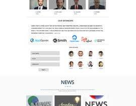 nº 5 pour Design a Website Mockup par shafikshaon1