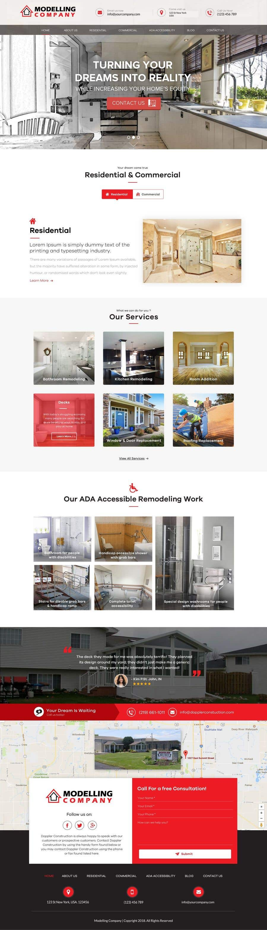 Entry #2 by dewiwahyu for Design 3 mockup website pages for me for a ...