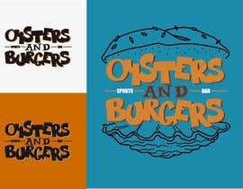 #166 for Develop a Corporate Identity for a burger & Oyster bar by Muinmuin