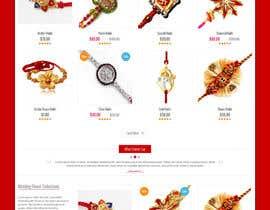 SHRIHITECH tarafından Design a website design and mockup for onlinerakhi.com için no 5
