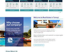 nº 11 pour Logo and web site design for Real Estate in Turkey par chiqueylim