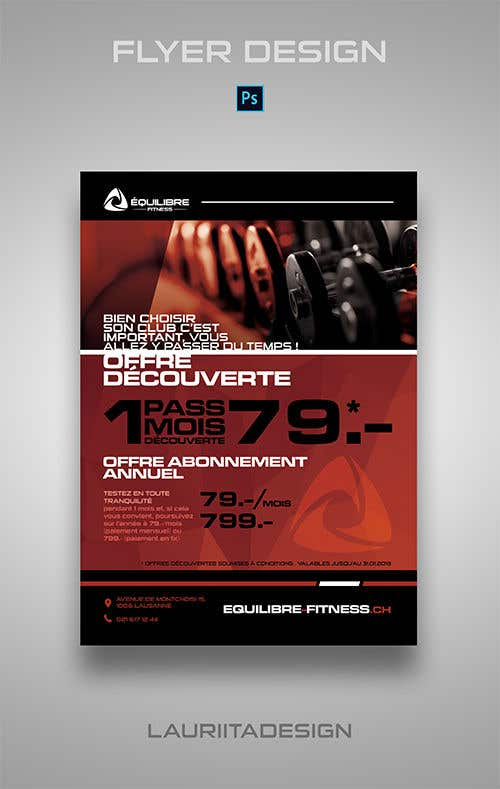 Contest Entry #100 for Design a Gym direct mail Flyer