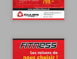 nº 73 pour Design a Gym direct mail Flyer par ravi05july
