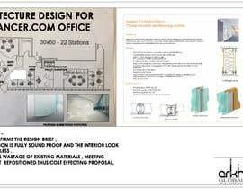 #39 for Architecture Design for Freelancer.com Office af Arkhitekton007
