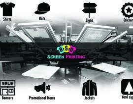 "farhati1 tarafından Design a 5"" x 7"" mailer for screen printing shop için no 6"